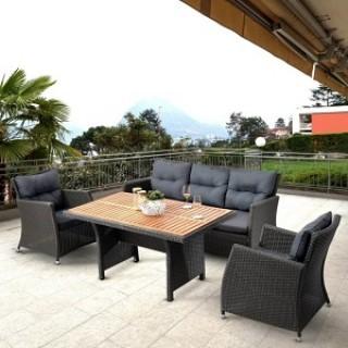 Комплект плетеной мебели AFM-308G Brown/Grey