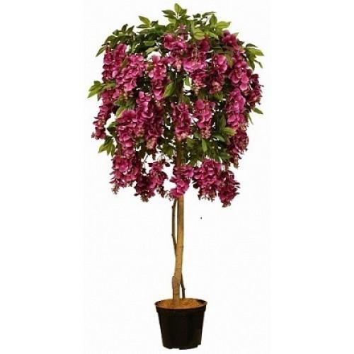 Вистерия Искусственное дерево в кашпо купить в Краснодаре