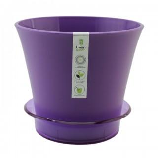 ЛОТОС  Фиолетовый  с поддоном  Продажа коробкой 14 шт.