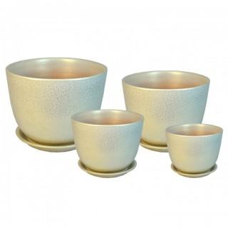 Комплект керамических горшков Милан ГЛ 507