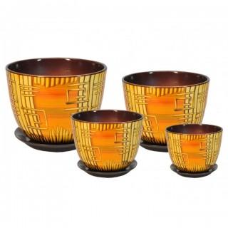 Комплект керамических горшков Милан РС 505