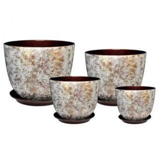 Комплект керамических горшков Милан РС 533