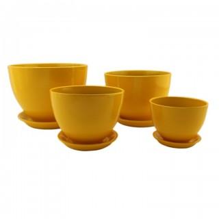 Комплект керамических горшков Венеция ГЛ 302