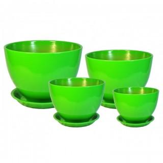 Комплект керамических горшков Венеция ГЛ 303