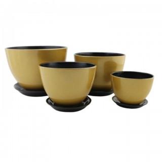 Комплект керамических горшков Венеция ГЛ 317