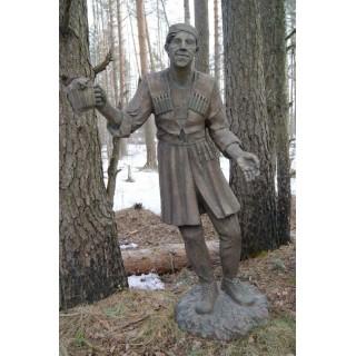 БАЛБЕС В БРОНЗЕ Садовая скульптура