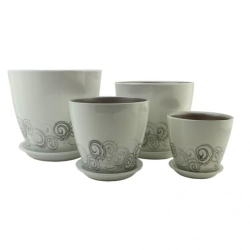 РС 31 Бутон комплект керамических горшков купить в Москве