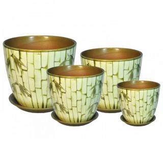 Комплект керамических горшков Бутон РС 32