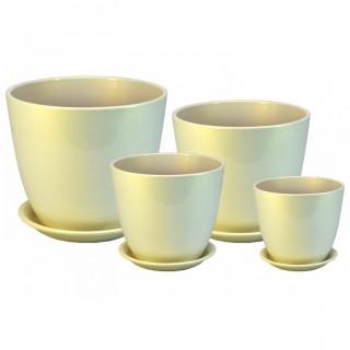 Комплект керамических горшков Бутон ГЛ 16