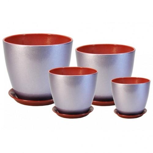 ГЛ 19 Бутон комплект керамических горшков купить в Москве