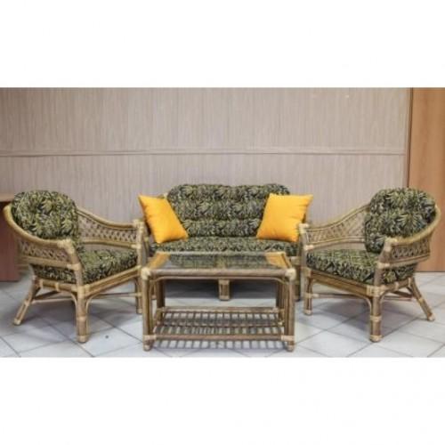 Комплект мебели 35 Ажурный (Salamis) из ротанга купить в Москве