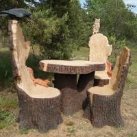 Садово-парковые скульптуры Сказка Животные Люди