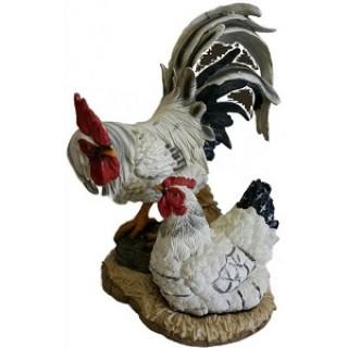 Садовая фигура Куриная семья