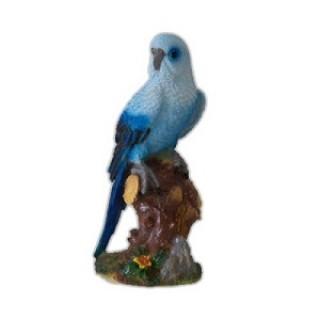 Садовая фигура Попугай на коряге