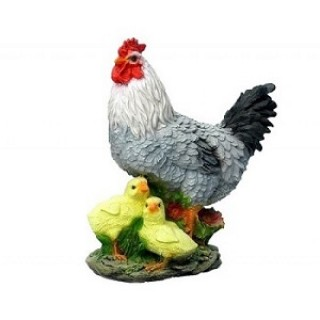 Силиконовая форма Курица с цыплятами