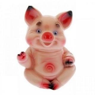Силиконовая форма Свинка сидит