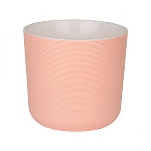Лион Розовый горшок с вкладкой купить в Москве