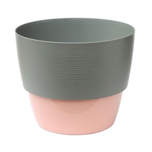 Валенсия Серый муссон + Розовый прикрепляемый поддон  купить в Москве