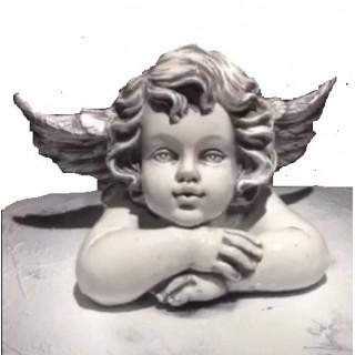 Ангел лежит Садовая фигура