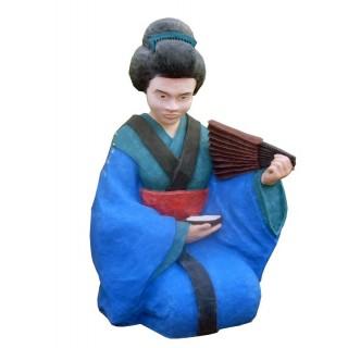 ГЕЙША Садовая скульптура