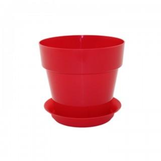 Горшок Протея Красный для фиалок и суккулентов