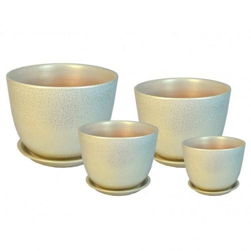 ГЛ 507 Милан комплект керамических горшков купить в Москве