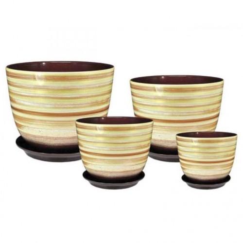 Set of ceramic pots Milan RS 513