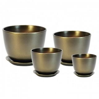 Комплект керамических горшков Милан ГЛ 511