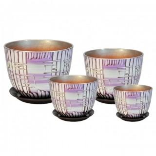 Комплект керамических горшков Милан РС 506