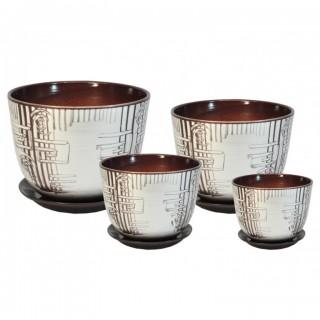 Комплект керамических горшков Милан РС 507