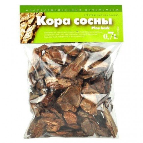 Кора сосны. Субстратный компонент купить в Москве