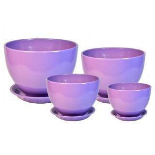 Комплект керамических горшков Венеция ГЛ 305