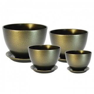 Комплект керамических горшков Венеция ГЛ 311