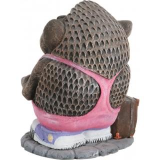 Садовая фигура Ёжик с чемоданом
