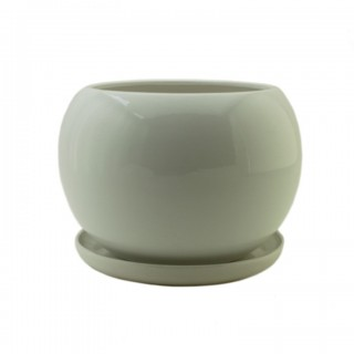 Горшок керамический с поддоном КУЛА J 15