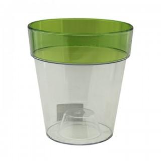 Горшок Протея Зеленый для орхидей пластиковый, 1, 5 литра